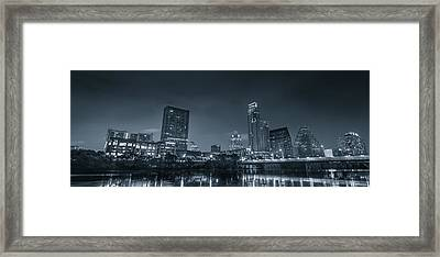 Austin Skyline Framed Print by David Morefield