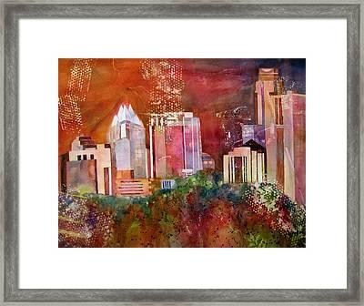 Austin Skyline IIi Framed Print