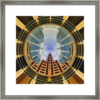Austin Speaks In The Round Framed Print by Wendy J St Christopher