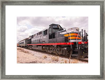 Austin Steam Train Diesel Engine 442 Framed Print