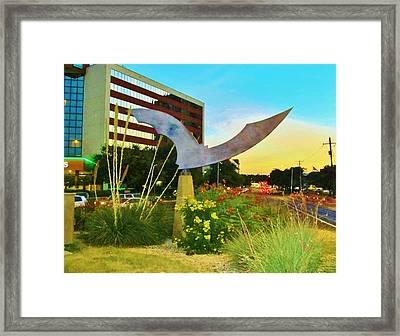 Austin Texas Bat Mobile Framed Print