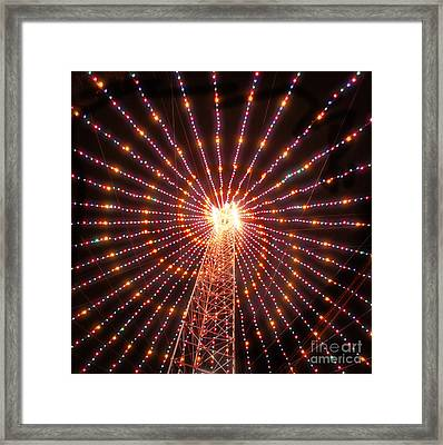 Austin Texas Trail Of Lights  Framed Print