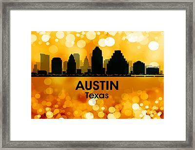 Austin Tx 3 Framed Print