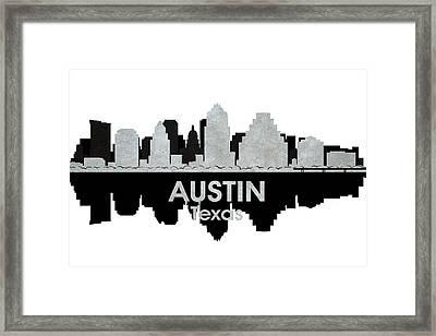 Austin Tx 4 Framed Print by Angelina Vick