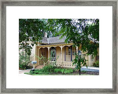Austin Tx. Home Of Author O. Henry   Framed Print
