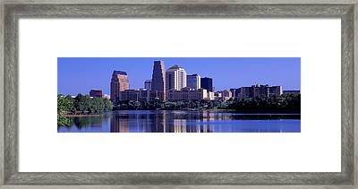 Austin Tx Usa Framed Print by Panoramic Images