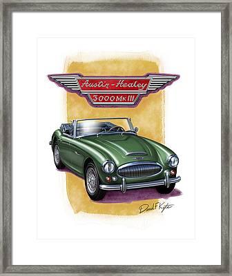 Austin3000-brg Framed Print by David Kyte