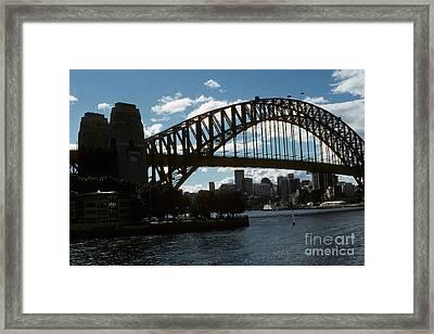 Australia - Sydney's Coat Hanger Framed Print