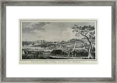 Australia 18th C.. English Colony Framed Print