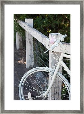 Australia, Clare Valley, Auburn, White Framed Print