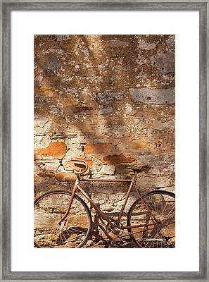 Australia, Clare Valley, Sevenhill, Old Framed Print