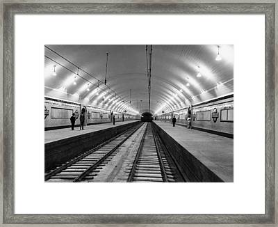 Australia Subway Station Framed Print
