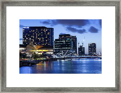 Australia, Victoria, Melbourne, South Framed Print by Walter Bibikow