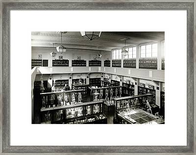 Australian Institute Of Anatomy Framed Print by American Philosophical Society
