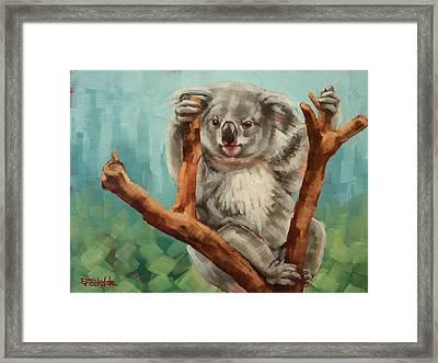 Australian Koala Framed Print