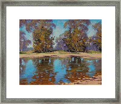 Australian River Framed Print by Graham Gercken