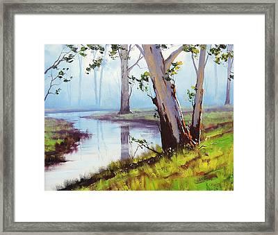 Australian Trees Painting Framed Print
