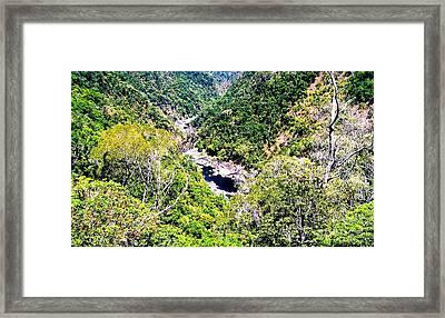 Australian Valley Framed Print by John Potts