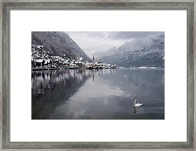 Austria, Hallstatt Framed Print