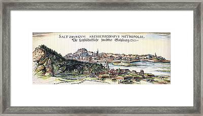 Austria Salzburg, 1643 Framed Print