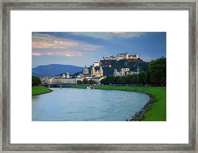 Austria, Salzburg Framed Print