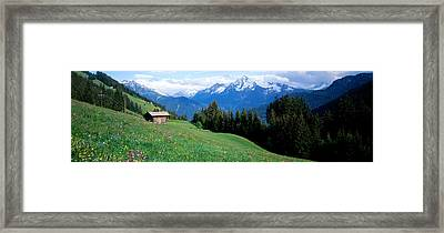 Austria, Zillertaler, Cabin Framed Print by Panoramic Images