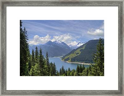 Austrian Mountains Framed Print