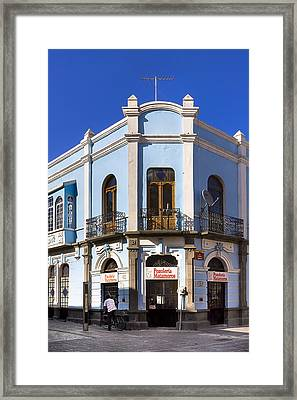 Authentic Puebla Mexico Framed Print