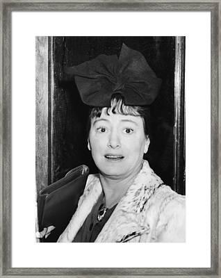 Author Dorothy Parker Framed Print