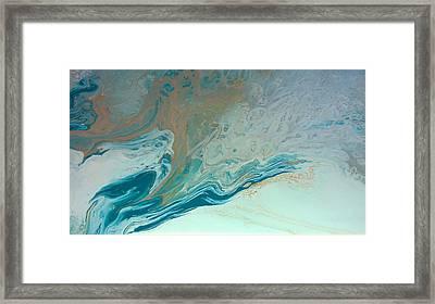 Autistic Waves Framed Print by Sonya Wilson