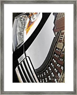 Auto Headlight 130 Framed Print