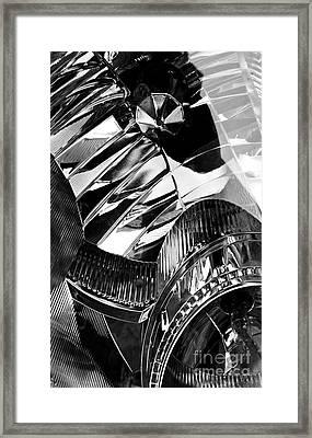 Auto Headlight 162 Framed Print by Sarah Loft