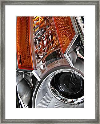 Auto Headlight 25 Framed Print