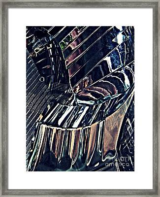 Auto Headlight 28 Framed Print by Sarah Loft
