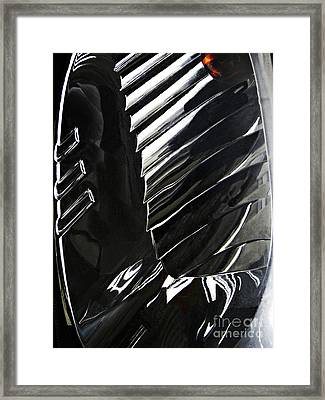 Auto Headlight 69 Framed Print by Sarah Loft
