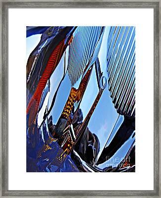 Auto Headlight 84 Framed Print