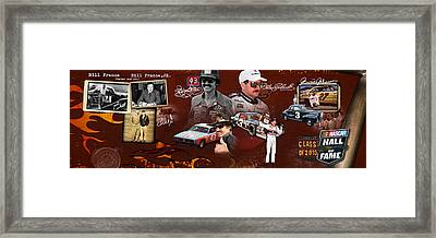 Auto Racing Hall Of Fame First Class Framed Print