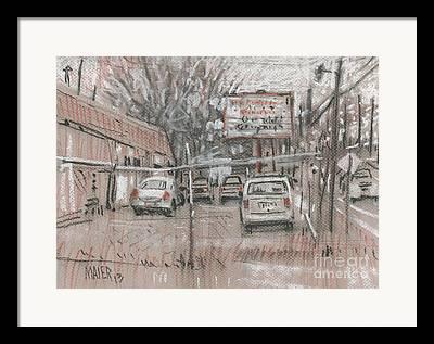 Repairs Drawings Framed Prints