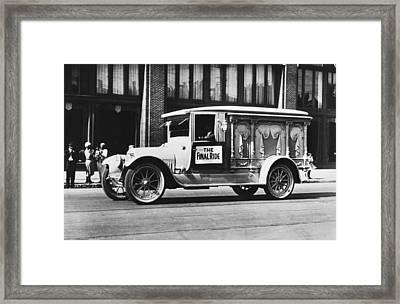 Auto Safety Parade Float Framed Print
