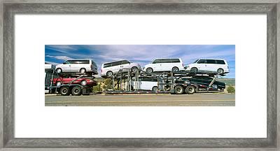 Auto Transporter, Gm Vans, Route 40 Framed Print