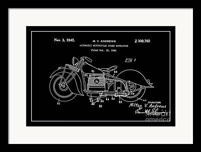 Drawing Of The Factory Digital Art Framed Prints
