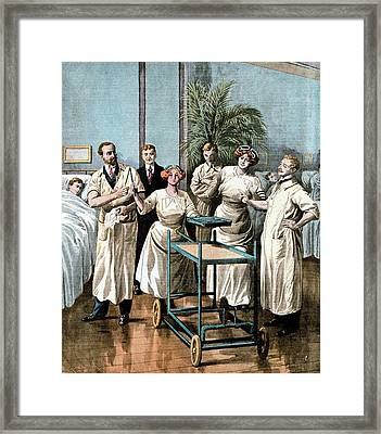 Automaton Nurses Framed Print by Universal History Archive/uig