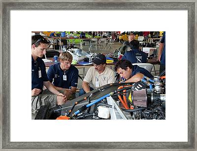 Automotive X Prize Competition Framed Print by Jim West