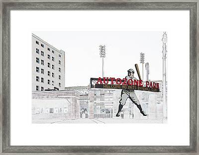 Autozone Park Memphis Framed Print