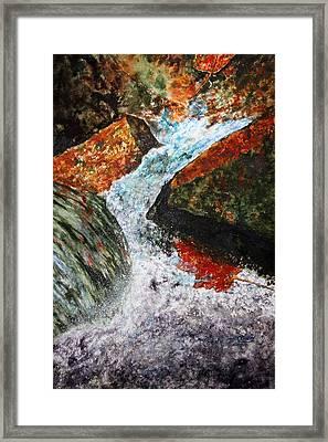 Autum Flow Framed Print by Enola McClincey