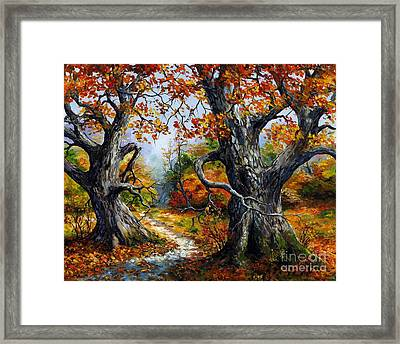 Autumn 06 Framed Print
