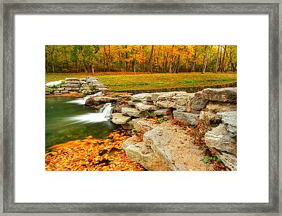 Autumn Ablaze Framed Print