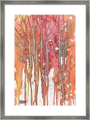 Autumn Abstract No.1 Framed Print