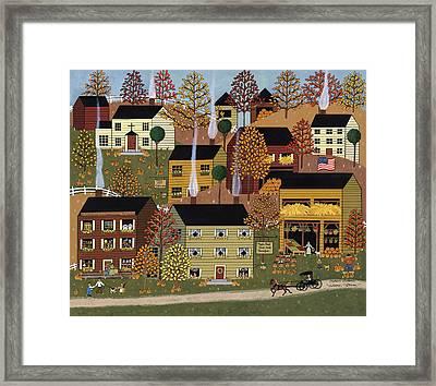 Autumn Afternoon Framed Print by Medana Gabbard