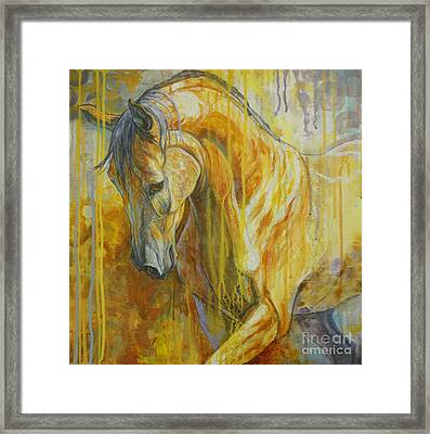 Autumn Air Framed Print by Silvana Gabudean Dobre